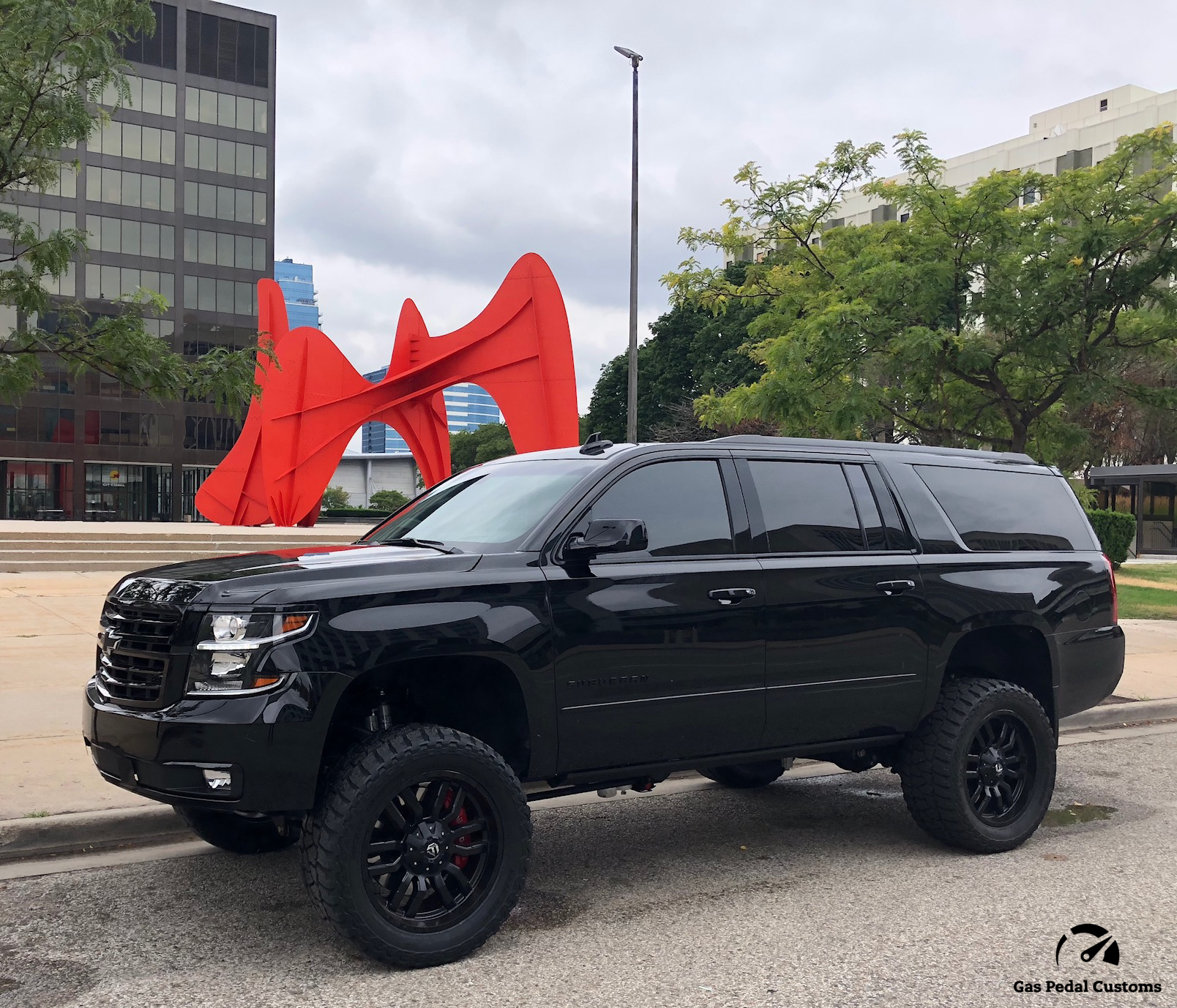 6 6l Duramax Lml 2018 Suburban 3500hd By Gas Pedal Customs