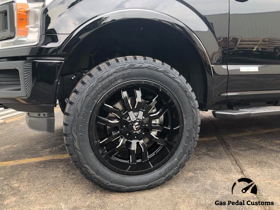 Fuel Offroad Wheels and Toyo Tires