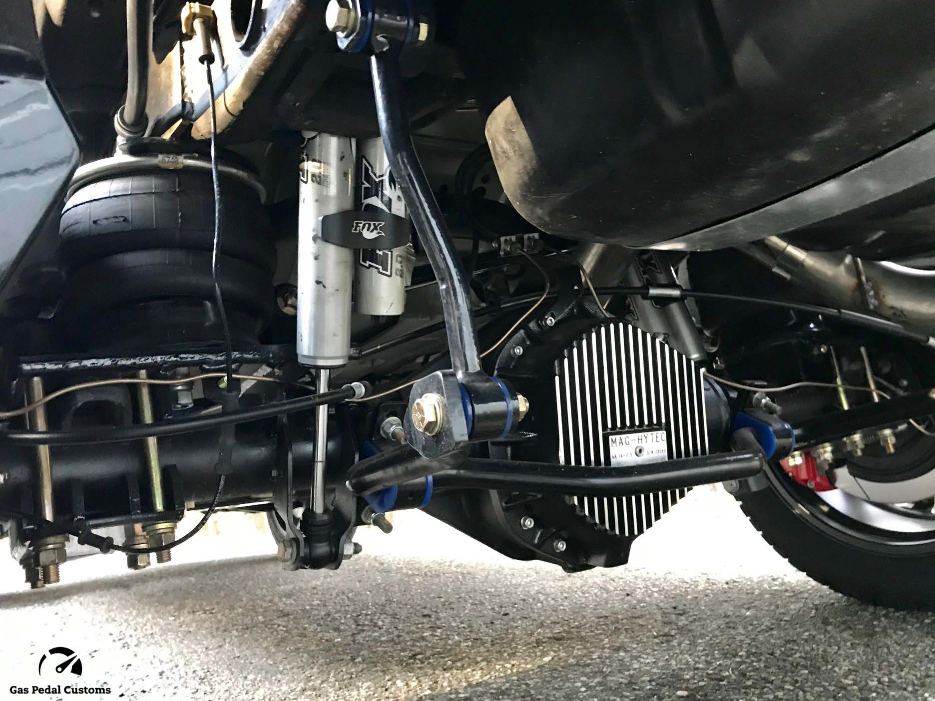 2018 Duramax Suburban with GM 14 bolt full-float rear axle