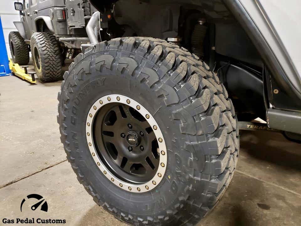 Gas Pedal offers the best selection of wheels and tires for your offroad rig