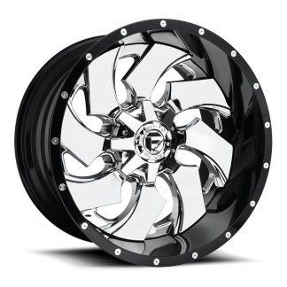20x9 Fuel D240 CLEAVER Wheels, Number D24020909850 - Gas Pedal Customs