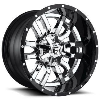 22x10 Fuel D270 SLEDGE Wheels - Gas Pedal Customs