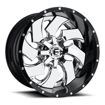 20x10 Fuel CLEAVER Wheels #D24020002647 - Gas Pedal Customs