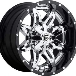20x10 Fuel D266 LETHAL wheels - Gas Pedal Customs