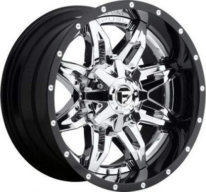 20x10 Fuel D266 LETHAL wheels - Gas Pedal Customs