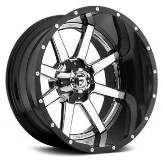 Fuel D260 Maverick Wheels 20x12 - Gas Pedal Customs