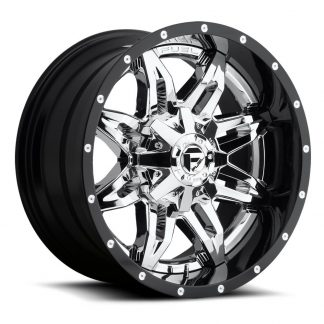 20x10 Fuel Offroad LETHAL Wheels - Gas Pedal Customs