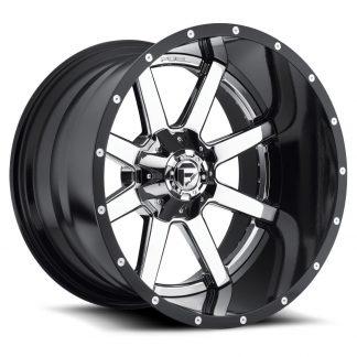 24x14 Fuel MAVERICK Wheels D26024409845 - Gas Pedal Customs